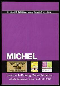 Michel Handbuch Katalog Bundesrepublik BRD Berlin Markenheftchen MH ZS NP 70 EUR
