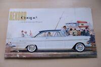 219587) Opel Rekord Coupe Prospekt 11/1961
