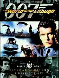 007 : The World Is Not Enough : 2 Disc : New Old Aus Stock : NEW DVD