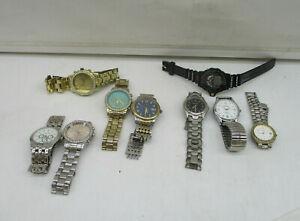 Konvolut 9 x Herren Damen Armbanduhren Modeschmuck – Condor Belmond ua.