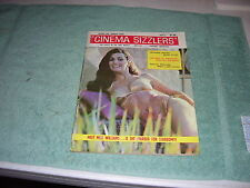 CINEMA SIZZLERS MAGAZINE V1 #3, 1966, EDY WILLIAMS, ENTERTAINERS AND SEX