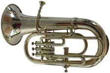 **VALUEABLE! NEW BRASS FINISH Bb/F 4 VALVE EUPHONIUM+FREE HARD CASE+MOUTHPIECE