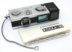 ✮ Edixa 16 M mit Xenar 25mm f/2.8 16mm Kleinstbildkamera // Händler!