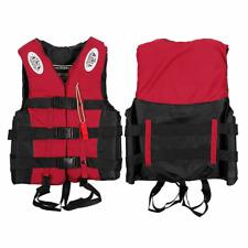 Gilets de Sauvetage avec Sifflet Adultes Enfants pour Sports Nautiques Kayak