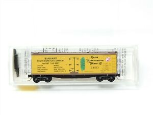 N Micro-Trains MTL 49390 Mobile & Ohio Fruit Dispatch 40' Wood Reefer #24013