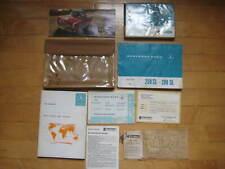 Mercedes 250SL-280SL W113 Pagoda OEM Owners Manual, Pouch, Brochure