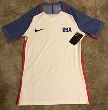 Men's Size LARGE Nike Team USA Soccer Olympic Vapor Match Jersey- LIMITED