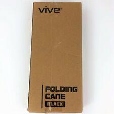 Vive Folding Cane - Lightweight Foldable Walking Cane for Men, Women, Senior