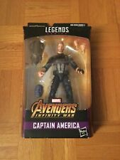 Captain America Avengers Figure Marvel Legends Series Thanos BAF Build a Figure