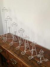 SILVER IRON EASEL DISPLAY CANVAS PICTURE ARTWORK MENU PLATE STAND WEDDING AA-17