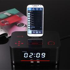 A8S NFC Bluetooth Docking speaker Radio Alarm Clock for Samsung Galaxy Note 4 3