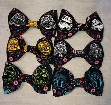 STAR WARS SUGAR SKULL ~ Boys' BOW TIE ~ 6 Versions @@SHIPPED FREE@@ Made in USA