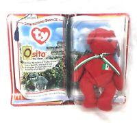 MacDonalds 1999 Ty Beanie babies Osito International Bears II #A47