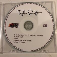 TAYLOR SWIFT 5 song promo-only CD limited edition NFS Big Machine Records