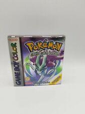 Pokemon Crystal Version Gameboy 2001 un SEALED Rare Color CIB Case PAL European