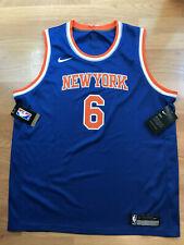 NWT Nike Dri-Fit New York Knicks #6 Porzingis #6 NBA Jersey (Youth Large)