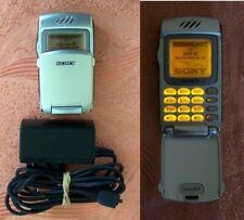 Retro Sony CMD-Z7 Flip Mobile Phone Year-2001 SimFree GOOD CONDITION! (no z z1)
