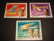 Magyar Posta- 1978 - Aircrafts / Planes - set of 3 U/M stamps with cancellation