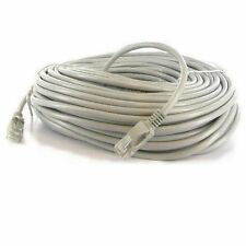 50' FT CAT5 CAT5E RJ45 Network LAN Patch Ethernet Cable Snagless Cord Grey Feet