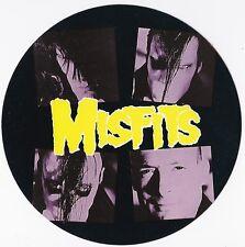 MISFITS    Sticker rond  édité dans les années 1990