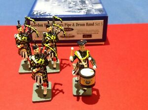 William Britains Jubilee Collection Gordon Highlanders Pipe & Drum Band 40331