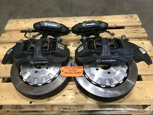 19 FORD MUSTANG SHELBY GT350 S550 OEM FRONT REAR BREMBO BRAKE CALIPERS ROTORS
