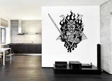 ik973 Wall Decal Sticker Samurai warrior fighter bedroom