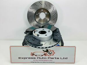 BMW 3 Series F30 F31 2013-2019 Front Brake Disc DRILLED & Pads PERFORMANCE