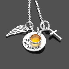 Namenskette GLANZVOLL 925 Silberkette Gravur Konfirmation Kommunion