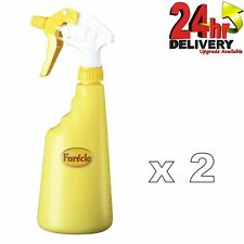 Farecla 2 X 600 Ml conveniente plástico Dispensador De Agua Botella de Spray MS/HS pinturas
