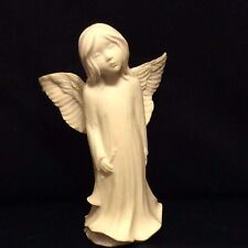 BOCHM  girl Angel has detailed wings she is holding a horn Made in England