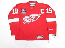 STEVE YZERMAN DETROIT RED WINGS RED 1997 STANLEY CUP REEBOK HOCKEY JERSEY eebd77400