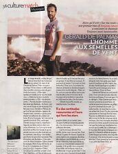 Coupure de presse Clipping 2011 Gérald de Palmas  (1 page)