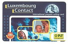 Luxemburg - P&T International prepaid calling card 14 -  290 LUF - Usagée