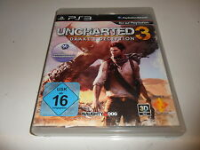 PLAYSTATION 3 PS 3 UNCHARTED 3: Drake 's Deception