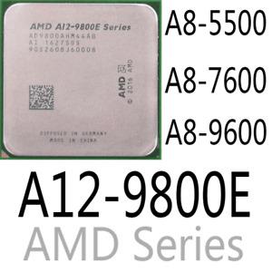 AMD Series A8-5500 A8-7600 A8-9600 A12-9800E AMD CPU Processor