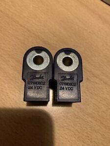 2x Magnetspule für Magnetventil Danfoss Ölpumpe BFP  071N0802 24V DC