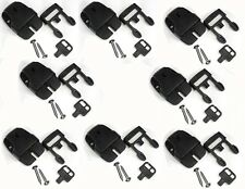8 x Spa Hot Tub Cover Broken Latch Repair Kit Clip Lock with key and hardware