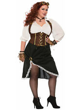 Steampunk Lady - Plus Adult Steampunk Costume