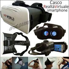Casco VR Realta Virtuale 3d Occhiali Telecomando per Huawei Nova Plus