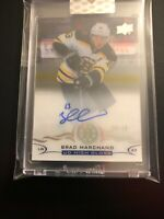 2018/19 UD High Gloss/Clear Cut Brad Marchand Auto 10/10