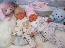ninisingen Reborn Reallife Zwillinge LETZTEN Puppe Babypuppe  Baby Rebornpuppe