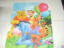 DISNEY WINNIE THE POOH AND Group 16x20 Poster