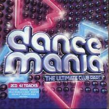 Dance Mania - The Ultimate Club Party (Double Cd)   BRAND NEW & SEALED