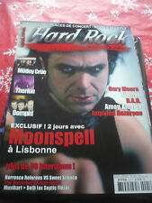 HARD ROCK MAGAZINE 05/2006 French Moonspell Motley crue Therion Oomph! OOP rare