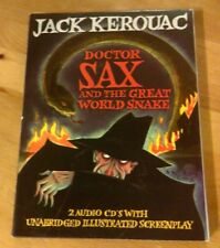 Doctor Sax and the Great World Snake Jack Kerouac 2CDs w/ Illustrated Screenplay