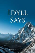 Idyll Says, (the Paramount Voice) by Jimi Dillon (2014, Paperback)