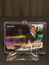 Bruce Buffer 2008 Donruss Americana II Ring Kings MMA Auto #249/500