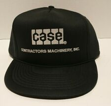 Case Construction Contractors Machinery Trucker Hat Cap Snapback Flat Bill