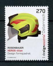 Austria 2018 MNH Heros - Titan Helmet Rosenbauer 1v Set Design Stamps